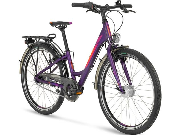 "Stevens Junior Tour Nexus 24"" Girl Jugendrad - 12,5"" deep purple"