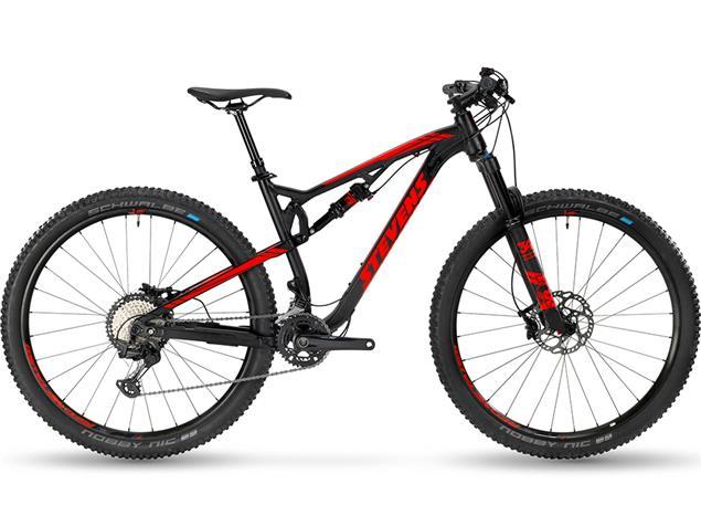 """Stevens Jura ES 29"""" Mountainbike - 18"""" velvet black"""