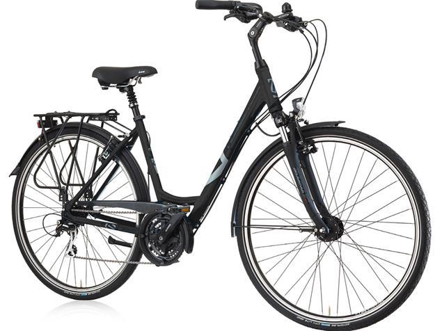 Gudereit LC-15 Einrohr Trekkingrad - 45 matt schwarz