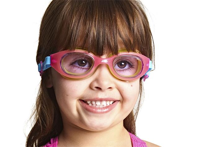 Zoggs Little Sonic Air Kids Schwimmbrille - pink-pink/tinted