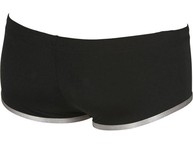 Arena ONE Biglogo Low Waist Badehose - 2 black/silver
