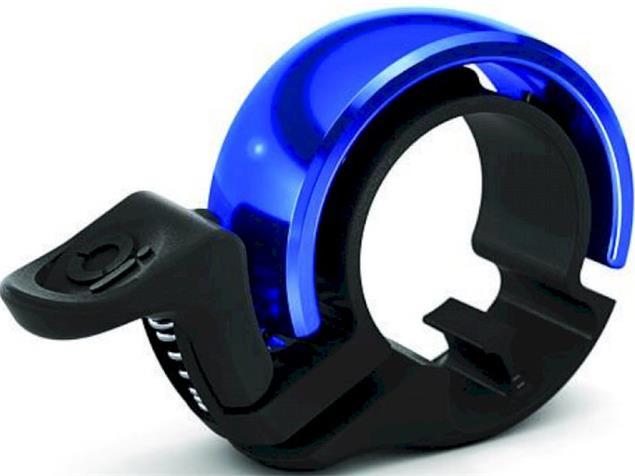 Knog Oi Classic large Klingel Alu 23,8 - 31,8mm - polish/blue