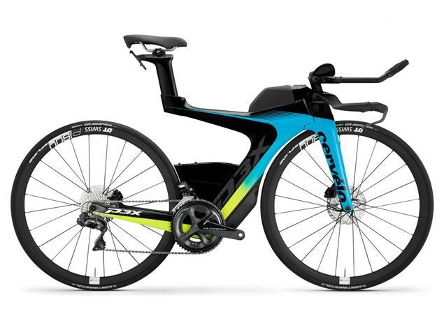 Cervelo P3X Ultegra Di2 2.0 Triathlonrad - 46/S rivera/black