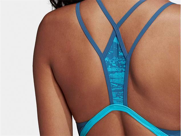Adidas Parley Badeanzug mystery blue/core blue - 34