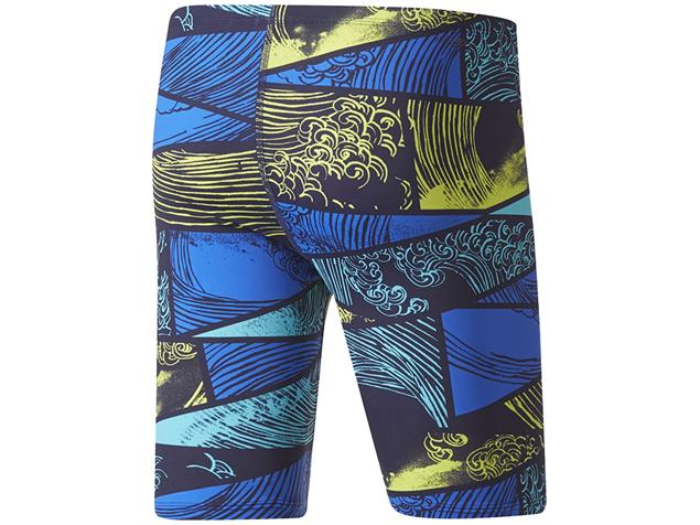 Adidas Parley Jammer Badehose Infinitex+ - 5 blue/yellow