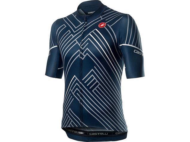Castelli Passo Trikot kurzarm - XL dark infinity blue