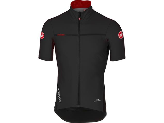 Castelli Perfetto Light 2 Wind/Rain Jacket Wind/Regen Jacke kurzarm - L black