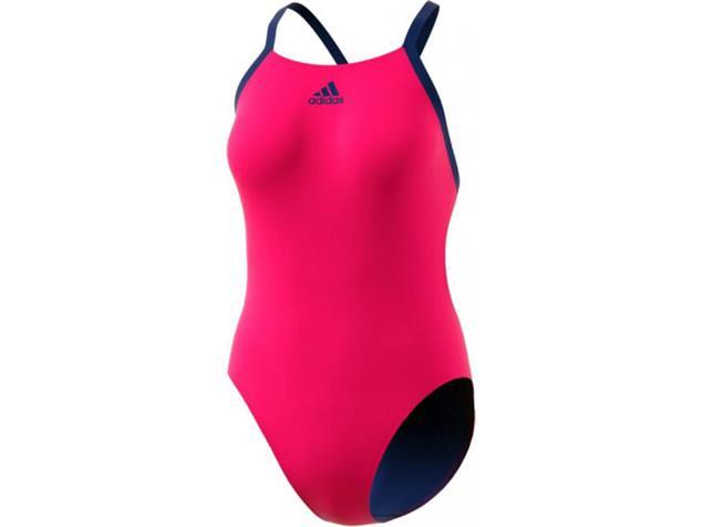 Adidas Performance Badeanzug shock pink/collegiate royal - 34