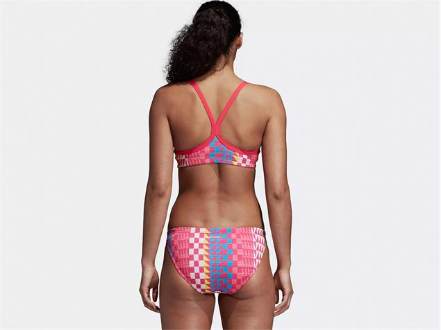 Adidas Performance Graphic Schwimmbikini real pink/bright blue - 34