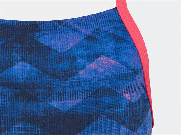 Adidas Performance Graphic Mädchen Badeanzug legend ink/real pink - 164