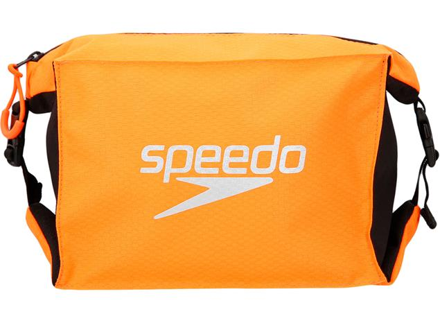 Speedo Pool Side Bag Tasche 5 Liter - black/orange