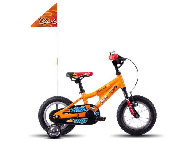 "Ghost Powerkid 12"" Kinderrad Modell 2016 - 12"" orange/red/black"