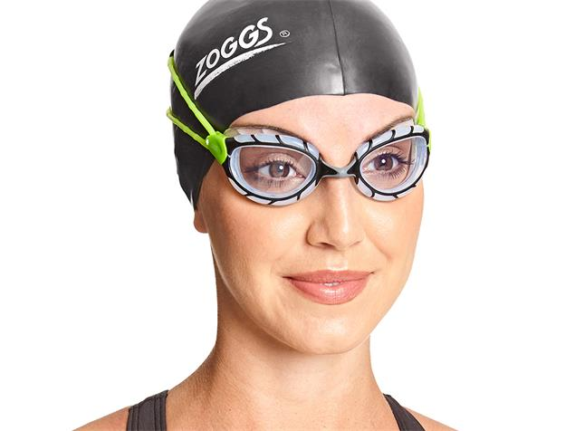 Zoggs Predator Schwimmbrille black-lime/clear - Small Fit