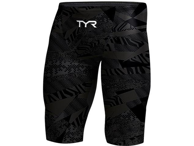 TYR Prelude Jammer Wettkampfhose - 28 black/black