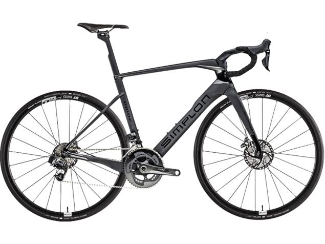 Simplon Pride Ultegra Di2 Rennrad - 55 carbon matt/black glossy