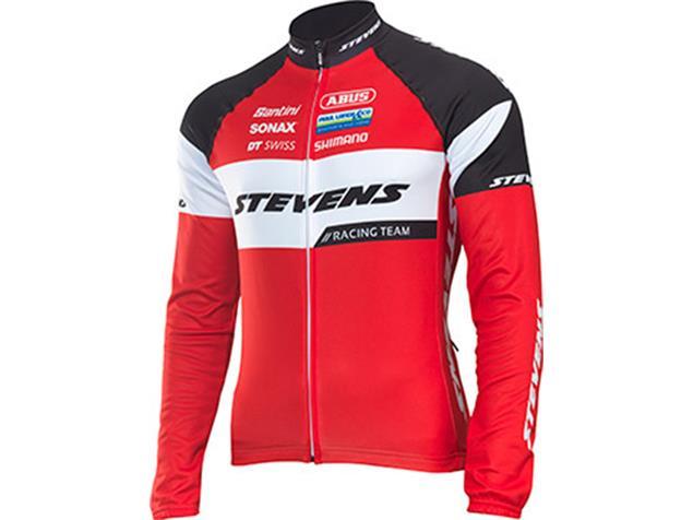Stevens Racing Team 2.0 Wintertrikot langarm - S rot/schwarz/weiss
