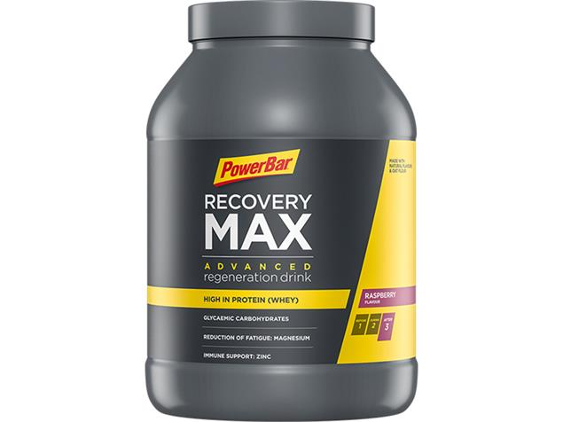 PowerBar Recovery Max Drink 1144 g - raspberry