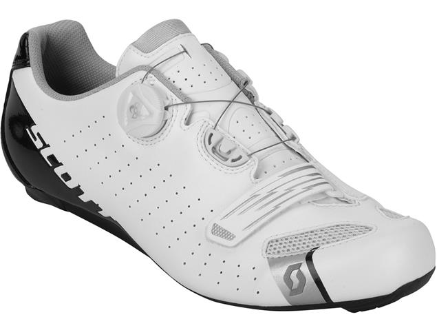Scott Road Comp Boa Rennrad Schuh - 43 white/black gloss