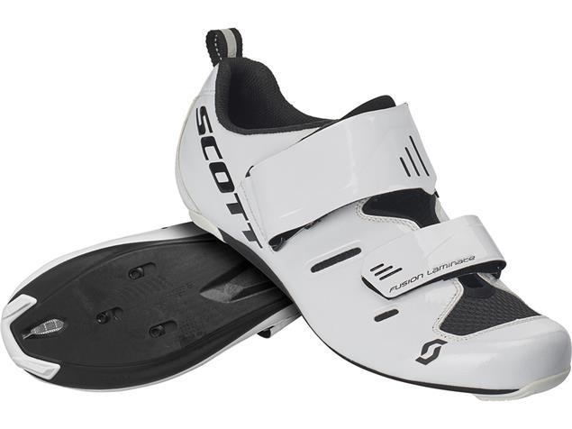 Scott Road Tri Pro Triathlon Schuh - 47 gloss white/black