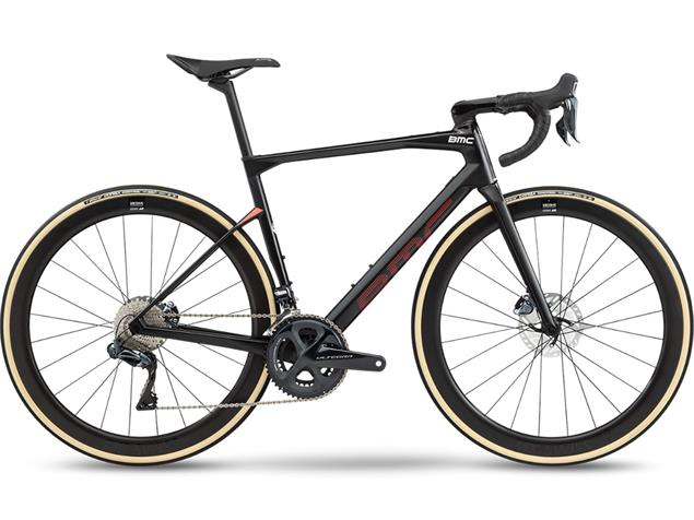 BMC Roadmachine RM01 Four Rennrad - 47 carbon/red