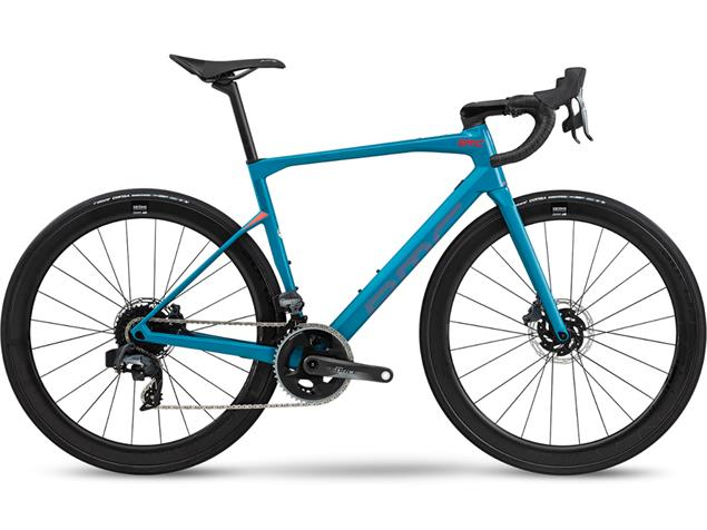 BMC Roadmachine RM01 Three Rennrad - 58 petrol blue