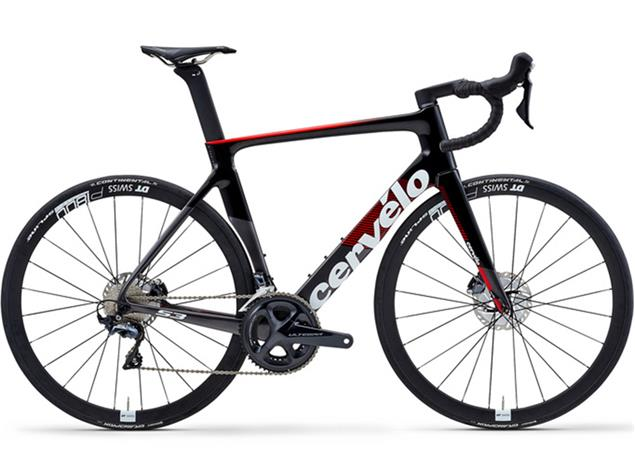 Cervelo S3 Disc Ultegra 8020 Rennrad - 51 graphite/black/red