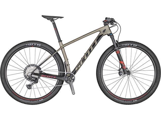 Scott Scale 910 Mountainbike - S meteor grey/black/red