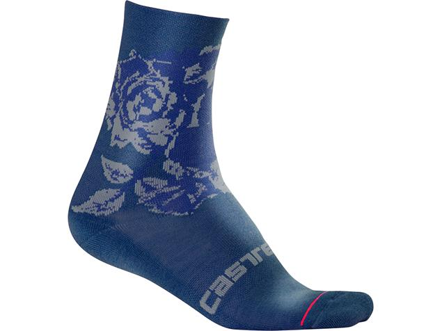 Castelli Scambio 13 Sock Damen Socken - S/M dark infinity blue