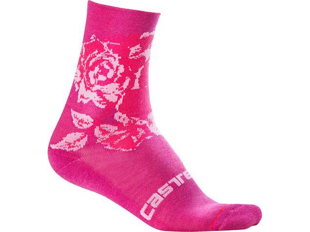 Castelli Scambio 13 Sock Damen Socken - S/M electric magenta