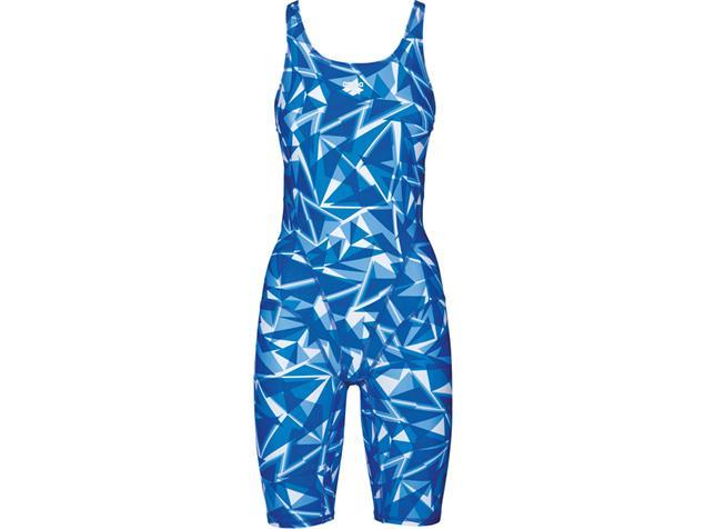 Arena Shattered Glass Full Body Badeanzug Swim Tech Back - 38 royal