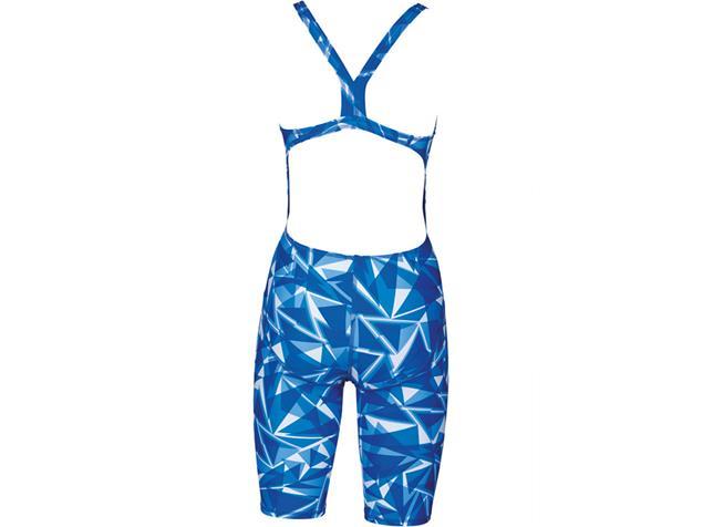 Arena Shattered Glass Full Body Badeanzug Swim Tech Back - 36 royal