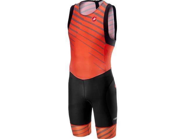 Castelli Short Distance Suit Einteiler - M orange