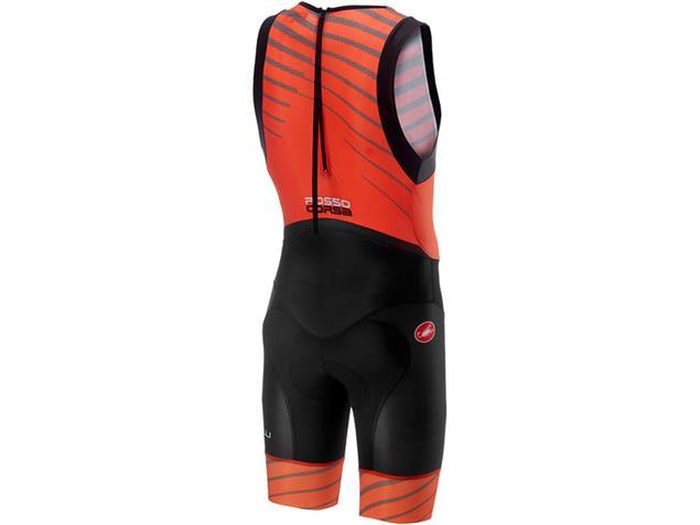 Castelli Short Distance Suit Einteiler - L orange