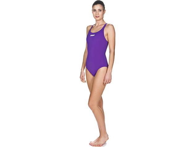 Arena Solid Badeanzug mirtilla/white Swim Pro Back - 34 mirtilla/white