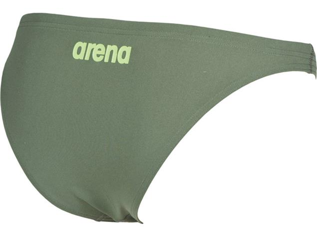 Arena Solid Bottom Schwimmbikini Hose - 34 army/shiny green