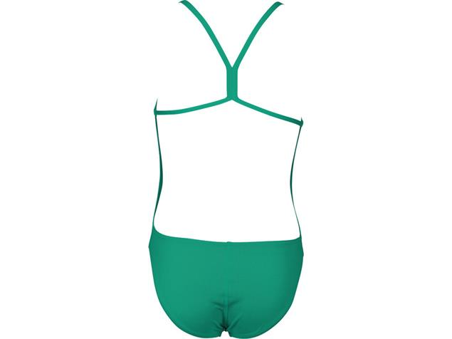 Arena Solid Youth Mädchen Badeanzug Lighttech Back - 140 persian green/aphrodite