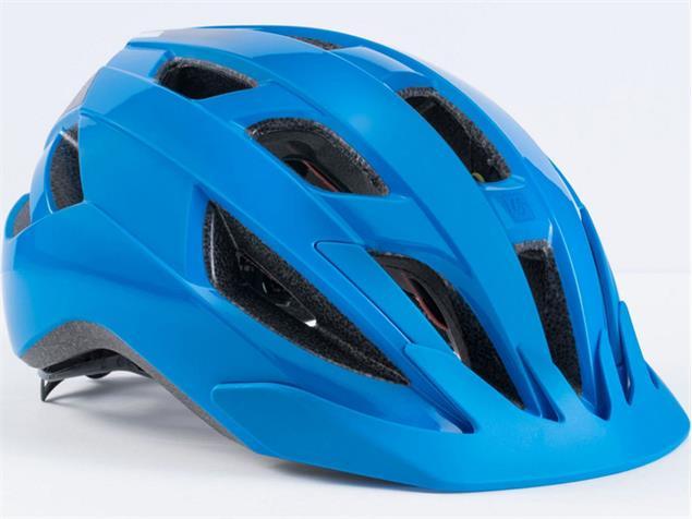 Bontrager Solstice MIPS 2018 Helm - M/L waterloo blue