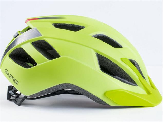 Bontrager Solstice MIPS 2018 Helm - M/L visibility yellow
