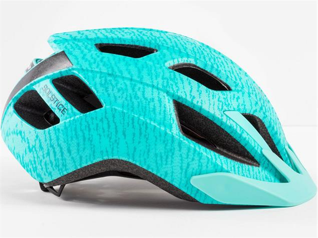 Bontrager Solstice MIPS 2019 Helm - S/M white/miami green