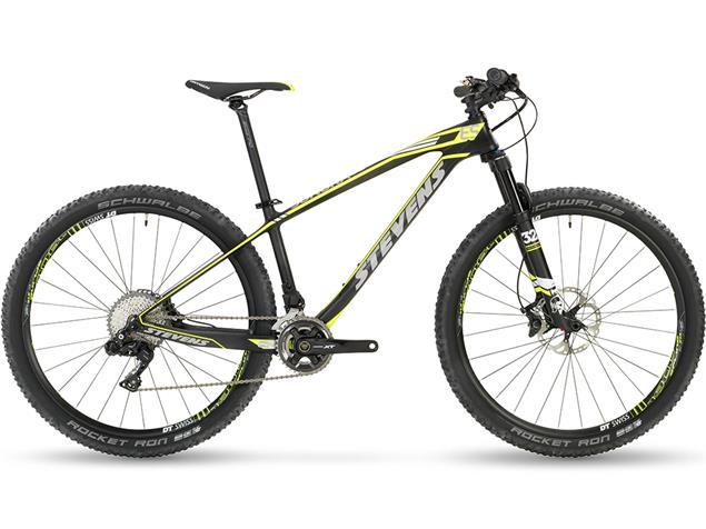 "Stevens Sonora ES Di2 27.5"" Mountainbike Testrad - 16"" team black"