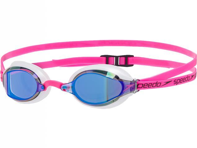 Speedo Speedsocket 2 Mirror Schwimmbrille ecstatic pink/white/blue