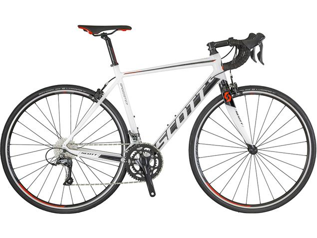 Scott Speedster 40 Rennrad - 56/L white/black/red