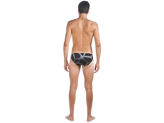 Arena Spider Brief Badehose - 7 black/white