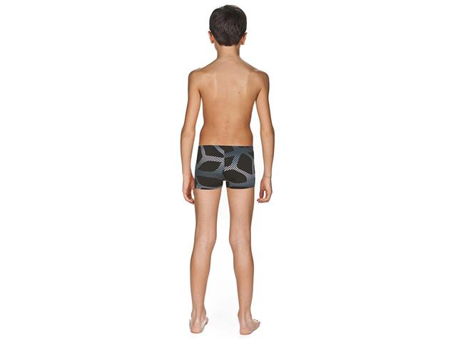 Arena Spider Short Jungen Badehose - 152 black/white