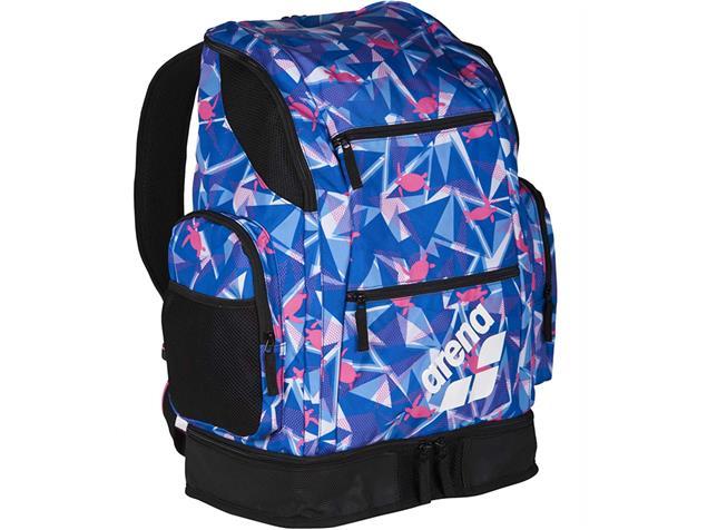 Arena Spiky 2 Large Backpack Rucksack Limited, 40 Liter - shattered turtles blue