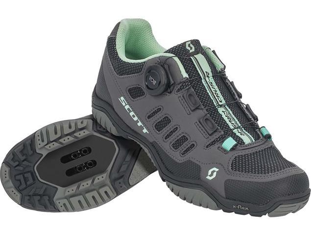 Scott Sport Crus-r Boa Lady Schuh - 36 dark grey/mint green