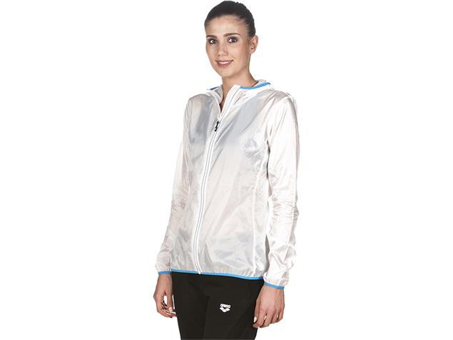 Arena Sports Apparel Damen Run Windbreaker Windjacke - S white