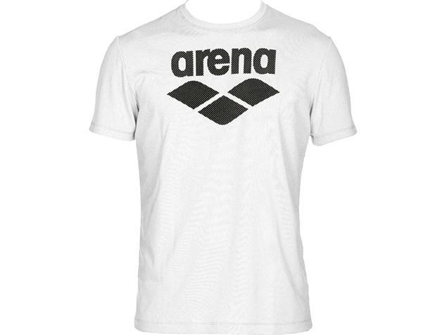 Arena Sports Apparel Herren Gym Logo T-Shirt - S white/white