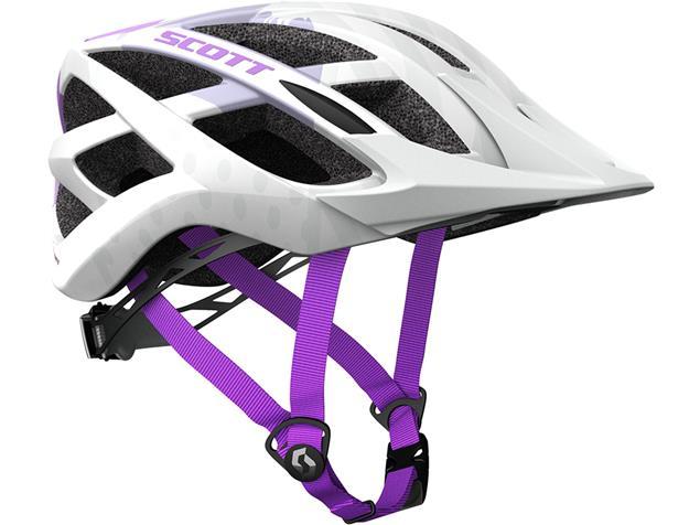 Scott Spunto 2018 Helm - Onesize white/purple