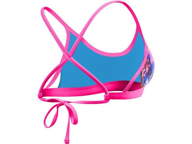 TYR Stellar Schwimmbikini black/pink Mojave Tieback Top + Mini Bikini Bottom pink - 36